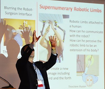 Supernumerary Robotic Limbs