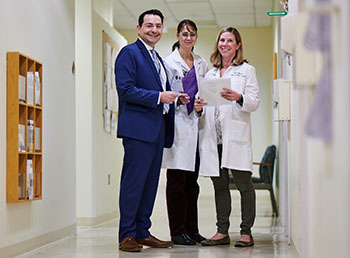 BIDMC's Colorectal Cancer Treatment Team