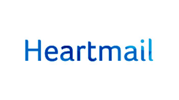 Heartmail text logo