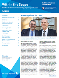 BIDMC Within the Scope Magazine, Volume 1, Fall 2019