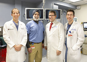 BIDMC bariatric endoscopists in the OR