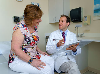 Dr. Jonah Cohen with BIDMC Weight Loss Patient
