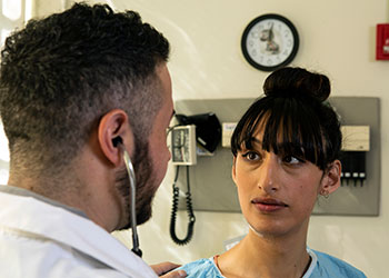 Transgender Patient with Doctor