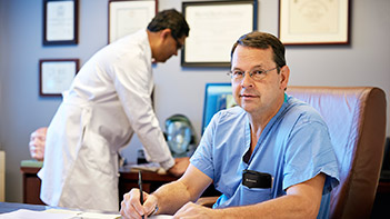 BIDMC's Brain Aneurysm Institute is led by renowned neurosurgeons, Drs. Ogilvy and Thomas