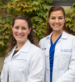 BIDMC Speech Language Pathologists Tori Flormann & Laura Bauman Castro
