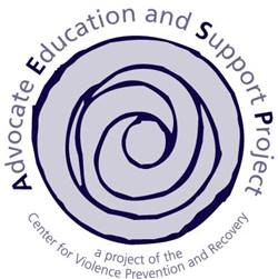 Logo for the Advocate Education and Support Project (AESP)
