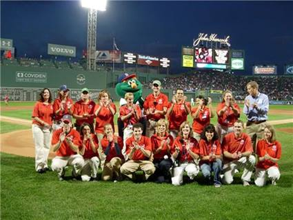 group at Fenway