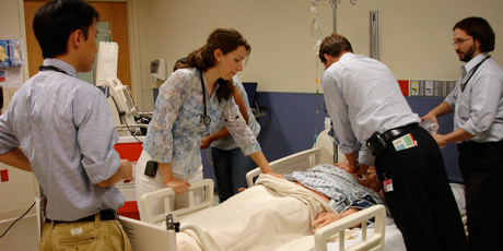 Simulation ICU