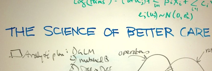 White board with The Science of Better Care on it