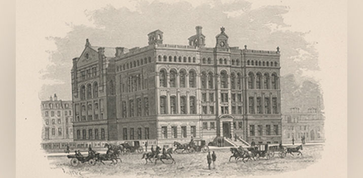 Harvard Medical School Circa 1883