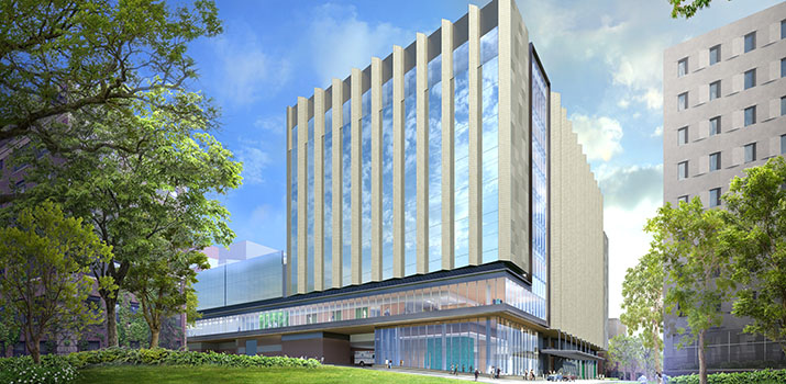 BIDMC New Inpatient Building Exterior Rendering